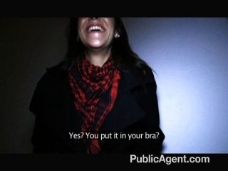 PublicAgent - स्पेनिश श्यामला सेक्स सड़क पर