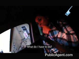 PublicAgent - छोटे महिलाओं को एक अजनबी द्वारा गड़बड़
