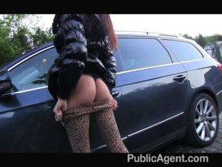 PublicAgent - भूरे रंग के बालों वाली सौंदर्य गड़बड़