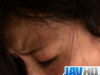 Megumi हारुका सर्वश्रेष्ठ एशियाई blowjob देता है