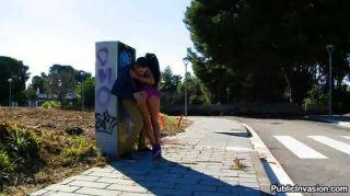 fiesty जूलिया डी लूसिया बार्सिलोना में गड़बड़ हो