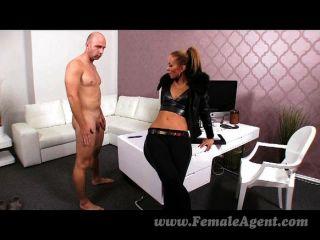 FemaleAgent - सेक्सी एजेंट के लिए कास्टिंग creampie