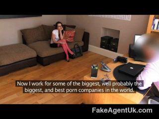 FakeAgentUK - कास्टिंग में पागल मुँह एमआईएलए