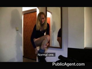 PublicAgent - पतली गोरा एक होटल में गड़बड़