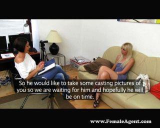 महिला एजेंट नकली एजेंट बनाम