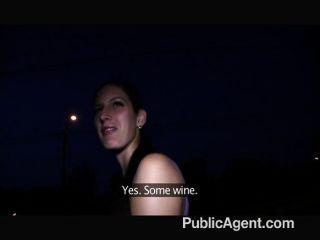 PublicAgent - प्यारी के साथ भयानक आउटडोर सेक्स