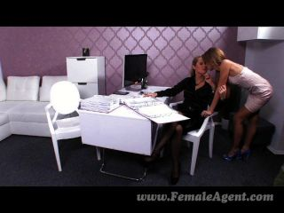 FemaleAgent - जब एजेंट यौन टकराने