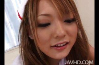 प्यारा नर्स शिवसेना Aragaki उसे रोगी एक टी देता है