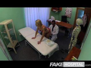FakeHospital - सुपर सेक्सी सुडौल गोरा