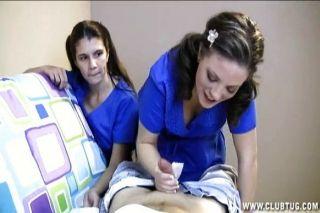दो नर्सों एक रोगी झटका बंद