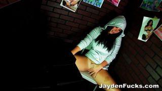 Jayden Jaymes एकल बूथ झटका बंद
