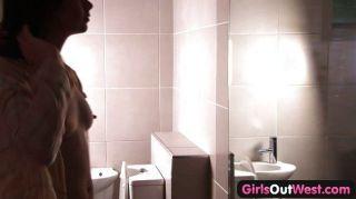 बाथरूम में बालों ऑस्ट्रेलियाई समलैंगिकों
