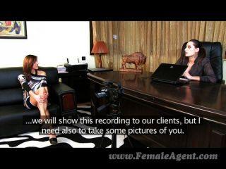 FemaleAgent - नए सेक्सी अनुभवों के लिए तैयार