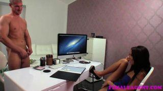 गर्म एजेंट के लिए FemaleAgent बड़ा कास्टिंग cumshot