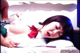 एशियाई स्कूल लड़की rynzaki nanaha कट्टर बकवास