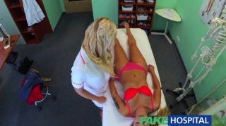 FakeHospital - शरारती गोरा नर्स