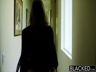 बेहोश बड़ी लूट लड़की Abella खतरे की पूजा करते हैं बिग काला मुर्गा