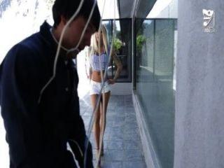 मैक्सिकन केबल आदमी बड़ा titted सींग का बना लड़की !!!Lolly स्याही