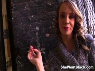 किशोर Beckie लिन 5 काला लंड द्वारा creampied (भाग 1)