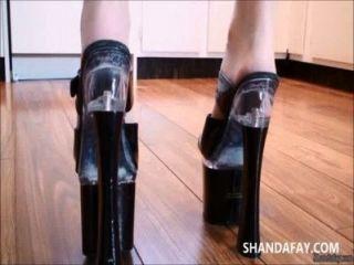 कनाडा के पैर और गुदा creampie !?Shanda फे!