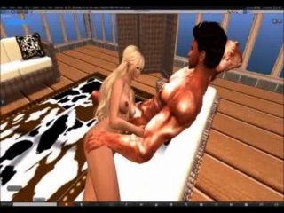 एक स्नान के साथ SecondLife खत्म