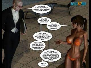 3 डी हास्य: क्लारा कौवों।अध्याय 1