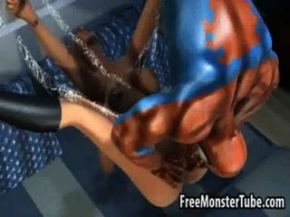 गर्म 3 डी सुनहरे बालों वाली लड़की spidermanmyname उच्च 2 द्वारा कठिन गड़बड़ हो जाता है