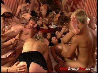 जर्मन groupsex सप्ताह के अंत में