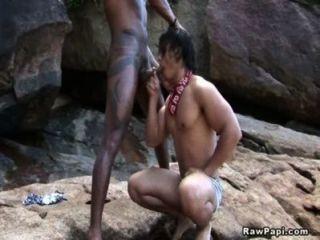 समलैंगिक बूटी के पीछे से कमबख्त