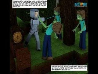 3 डी हास्य: दुनिया minecrack 26 इतिहास