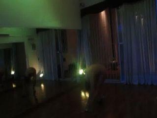 Ayelen paleo..bailando टैंगो एन फन्नी