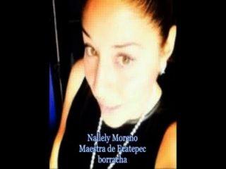 मैक्सिकन शिक्षक नैलेली मोरेनो Mateos नग्न और गड़बड़