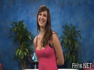 सेक्सी 18 साल पुराने लड़की मुश्किल drilled प्राप्त