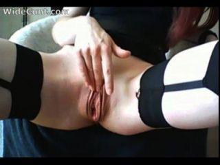 एक विस्तृत योनी 03 के साथ अद्भुत रेड इंडियन