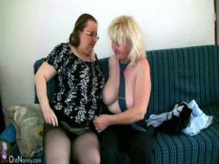 oldnanny बड़े स्तन एक साथ मोटा दादी के साथ हस्तमैथुन परिपक्व