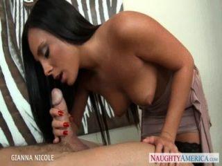 कार्यालय में सौंदर्य बेब Gianna निकोल बकवास