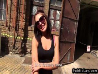 कारखाने में हंगरी शौकिया बेब बकवास