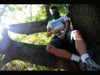 समलैंगिक किशोर लड़के जंगल में wanked