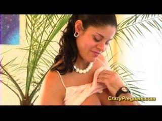संचिका बालों वाले गर्भवती बेब