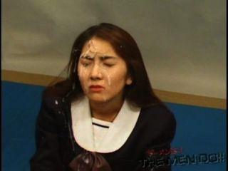 Bukkake हाईस्कूल पाठ 14 4/4 जापानी बिना सेंसर blowjob