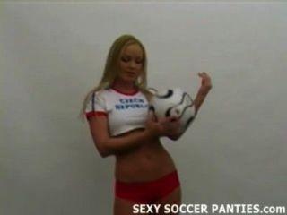 प्रज्वलन गर्म चेक फुटबॉल महिला अलग करना