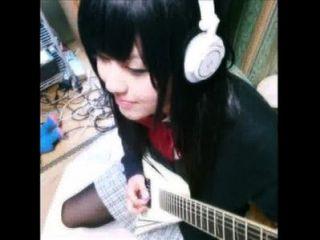 संगीत नमूना भंग छात्रा जापानी