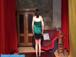 प्राकृतिक उसका सबसे अच्छा Lapdance शो कर लड़की