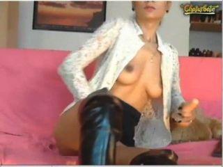 साथ ... brunettealesya -4 एक वेब कैमरा शो पर एक अच्छा समय होने
