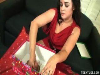 क्रिसमस handjob