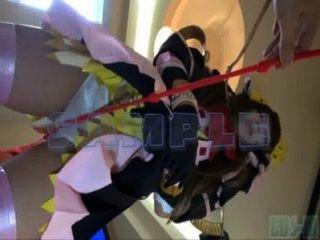 जापानी cosplayer एसएम कमबख्त