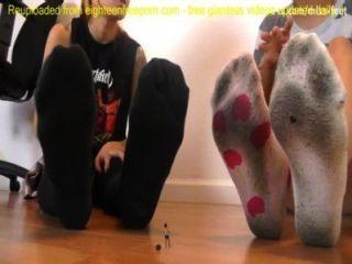 गुंडा दिखाने के छोटे पैर दास giantess SFX - giantess SFX humiliation.mp4