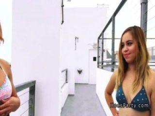 गर्म एमेच्योर नंगा नाच पार्टी पीओवी में विशाल डिक्स बांटने