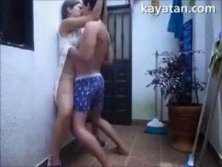 patayo na सेक्स की स्थिति आंग Filipina जोड़े को