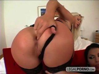 बड़े स्तन के साथ 2 सेक्सी लड़कियों RMG-1-02 पिछवाड़े में एक बड़ा डिक ले